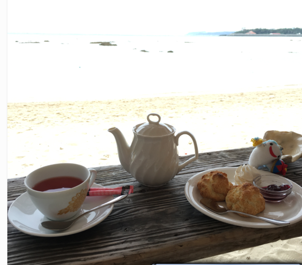 沖縄のカフェ ビーチサイドカフェのメニュー
