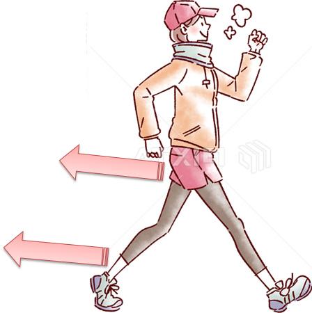 痩せる歩き方 お尻周りに効く