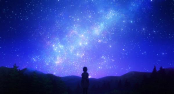 こんな夜空実際に見れたりするのかな