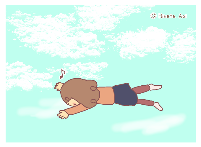 f:id:hinataaoi:fly in the sky