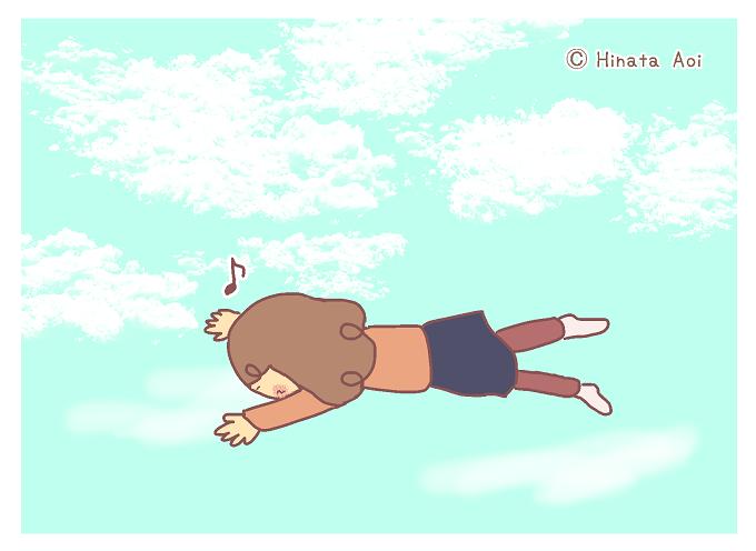 f:id:hinataaoi:fly in the sky