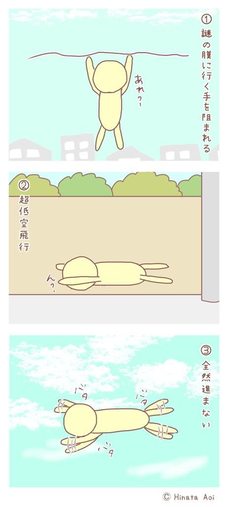 f:id:hinataaoi:flying pattern