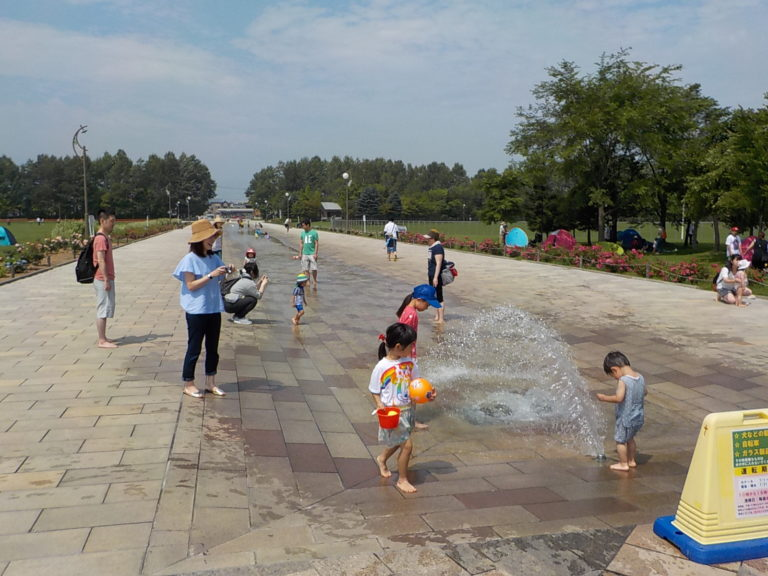 川下公園 白石区 水遊びできる カナール
