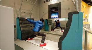 オリンピックミュージアム スピードスケート ウィンタースポーツ 札幌オリンピック