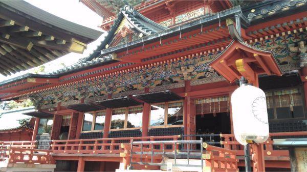 大拝殿の1階部分