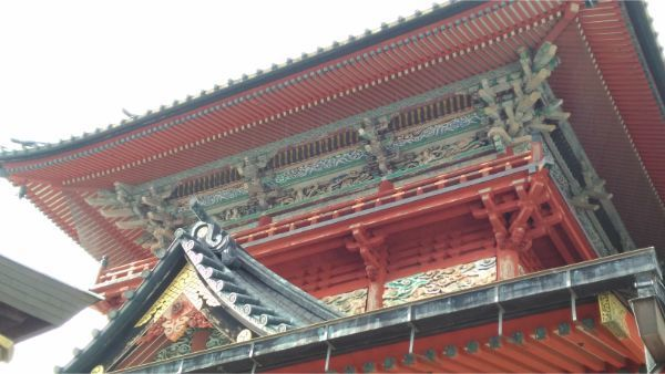 大拝殿の2階
