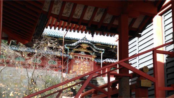 浅間神社の本殿