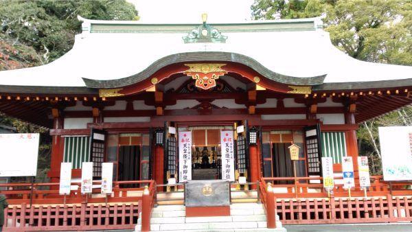 大歳御祖神社の拝殿