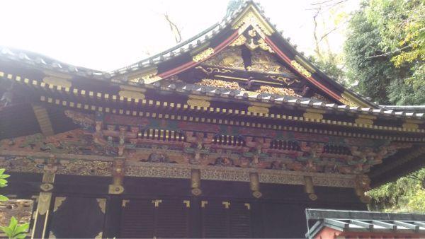 八千戈神社の右側面