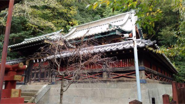 麓山神社の本殿