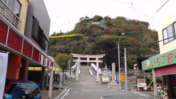 石段の入口
