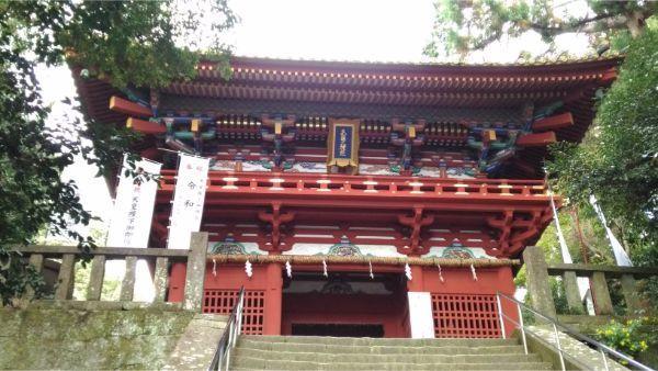 久能山東照宮の楼門