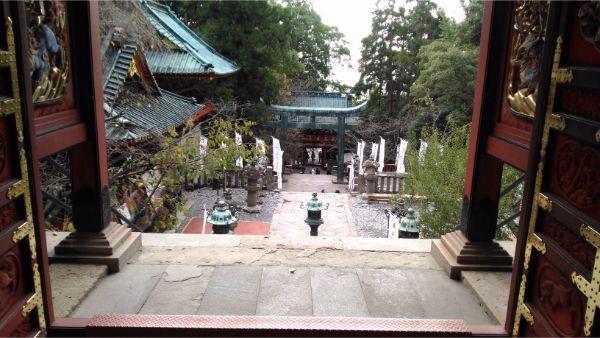 久能山東照宮の境内の図2