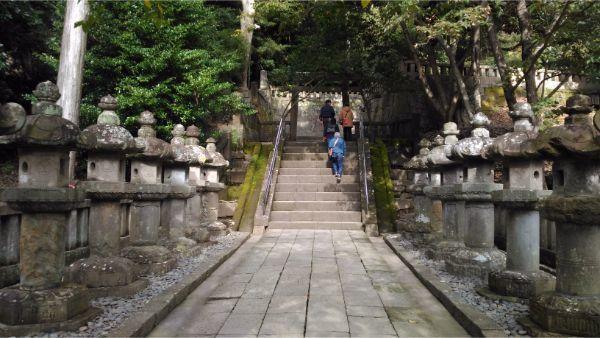 神廟へとつづく参道