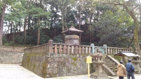 神廟、徳川家康の墓