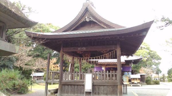 御穂神社の神楽殿