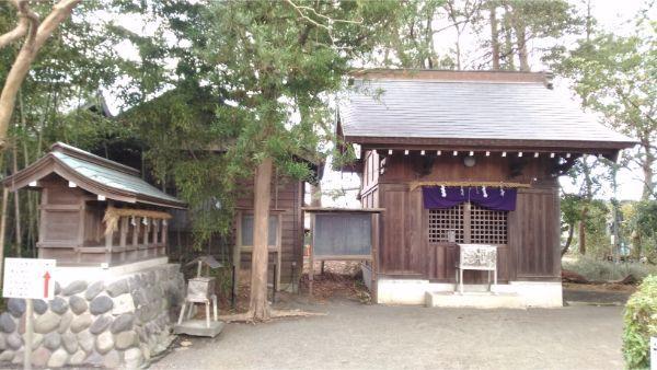 御穂神社の神馬舎