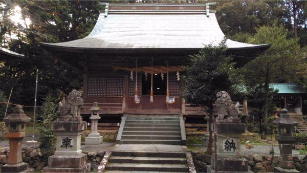 草薙神社の拝殿