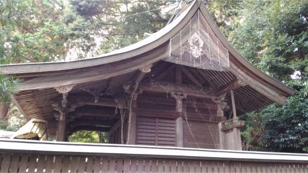 草薙神社の本殿右側