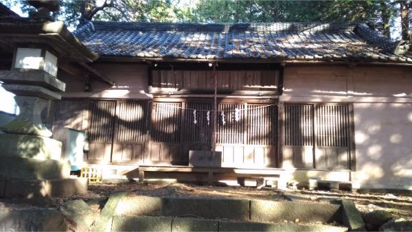 三島神社の拝殿