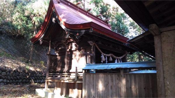 福地八幡神社(北下條)の本殿左