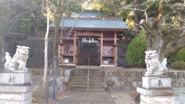 福地八幡神社(南下條)の隋神門