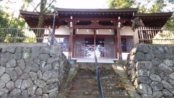 福地八幡神社(南下條)の拝殿