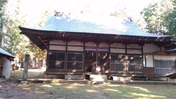 倭文神社降宮の拝殿