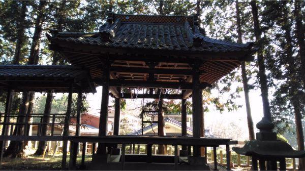 倭文神社降宮の神楽殿