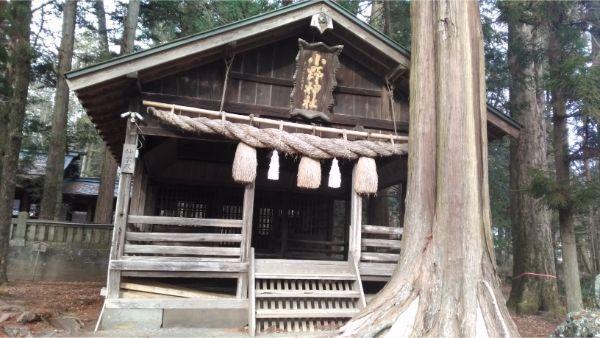 小野神社の神楽殿