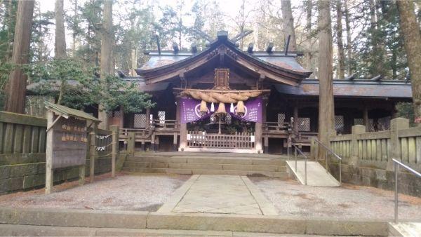 小野神社の拝殿