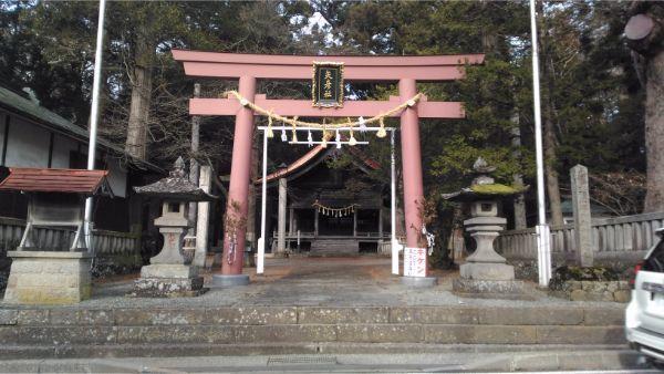 矢彦神社の鳥居