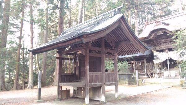 矢彦神社の勅使門