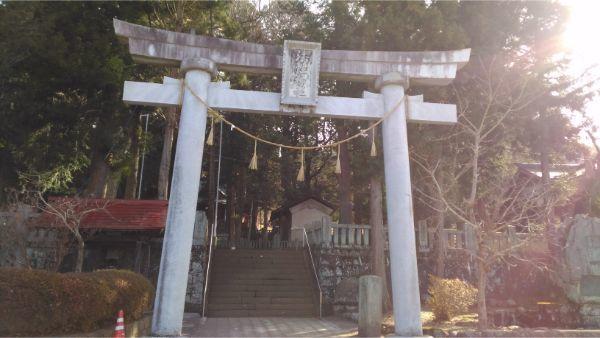 法性神社の鳥居
