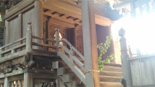 法性神社本殿の母屋