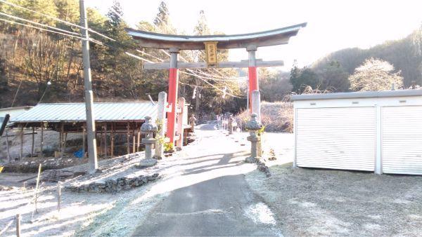 松尾神社の入口鳥居