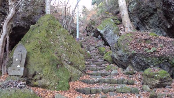 布引観音の参道の石段