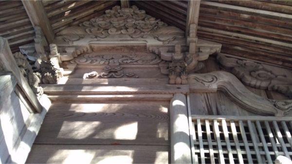 蓼科神社の本殿