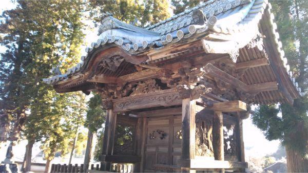 光徳寺の不開門の背面