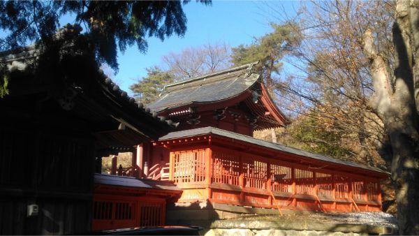 滋野神社の社殿