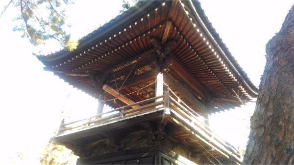 国分寺の鐘楼