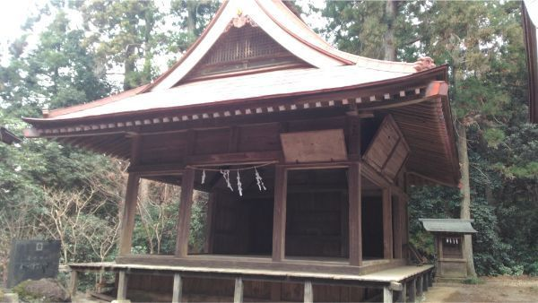菅原神社の神楽殿