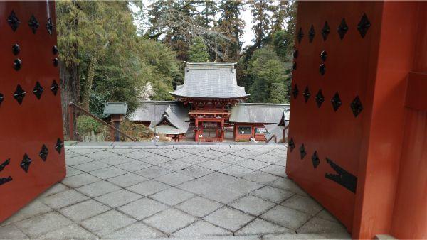 貫前神社の境内