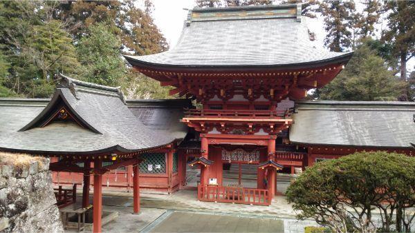 貫前神社の社殿
