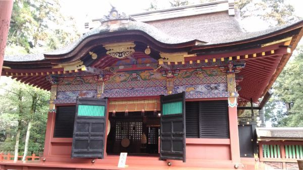 貫前神社の拝殿