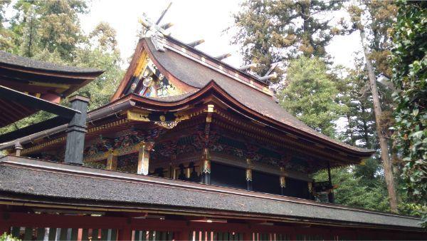 貫前神社の本殿