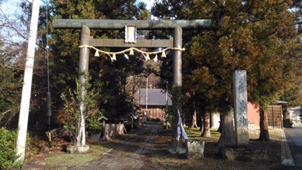 日置神社(上生坂)の境内入口