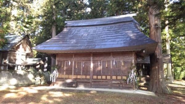 日置神社(上生坂)摂社の拝殿