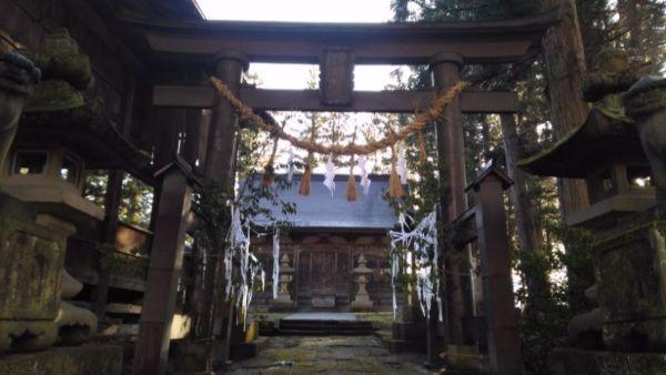 五社宮の境内入口
