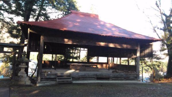 五社宮の神楽殿